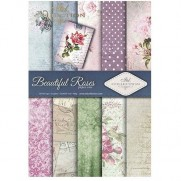 ITD Collection Pad 210 x 297 mm - Magnifiques Roses