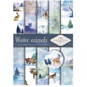ITD Collection Pad 210 x 297 mm - Animaux  Hivernaux