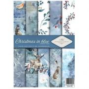 ITD Collection Pad 210 x 297 mm - Noël en Bleu