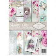 ITD Collection Pad 210 x 297 mm - Shabby Chic Printanier
