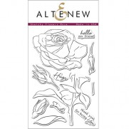 Étampe Altenew Sketchy Rose