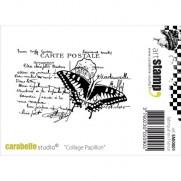 Étampe Carabella Studio Papillon