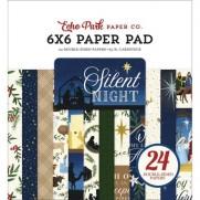"""Echo Park Pad 6"""" X 6"""" Sainte Nuit"""