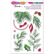 Étampe Stampendous Herbage pour Noël