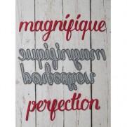 Simple à Souhait Dies Magnifique & Perfection
