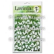 Lavinia Stencil Orchidée
