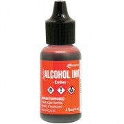 Alcohol Ink Ember