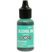 Alcohol Ink Laguna
