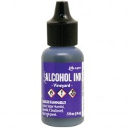 Alcohol Ink Vineyard