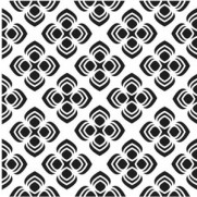 "Masque Peacock Pattern 12""X12"""