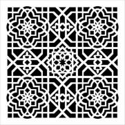 Masque  Ceiling Tile 6 X 6 pouces