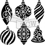 Masque Ornaments 6 X 6 pouces