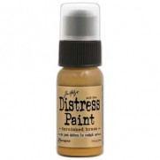 Tim Holtz Métallique Distress Paint Tarnished Brass
