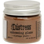 Distress Embossing Glaze Vintage Photo