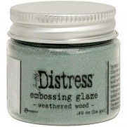 Distress Embossing Glaze Weathered Wood