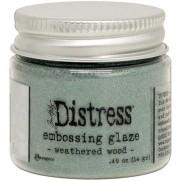 Distress Embossing Glaze Weathered Wood