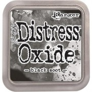 Distress Oxide Ink Black Soot
