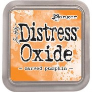 Distress Oxide Ink Carved Pumpkin