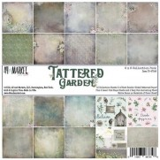 "49 and Market Pad 6"" X 6"" Tattered Garden"