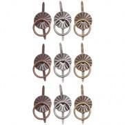 Tim Holtz Brads anneaux Antique Nickel, Brass & Cuivre