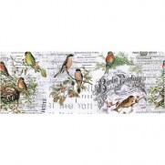 Tim Holtz papier pour collage Oiseaux