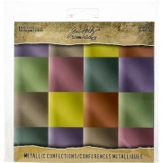 "Tim Holtz Pad 8""X8"" Confections"