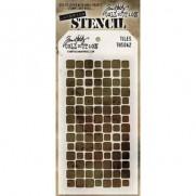 Tim Holtz Stencil Tiles