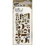 Tim Holtz Stencil Numberic