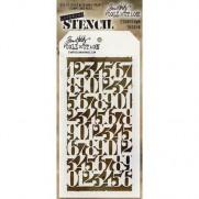 Tim Holtz Stencil Countdown