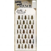 Tim Holtz Stencil Pines