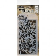 Tim Holtz Stencil Bouquet