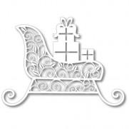 Tutti Designs Die Traîneau de cadeaux