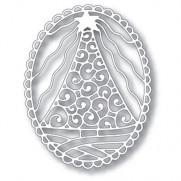 Tutti Designs Die Sapin dans un Oval