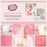 "49 and Market Pad 12"" X 12"" Vintage Artistry Blush"