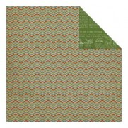 MMY Papiers Vintage Christmas Chevron (glitter)
