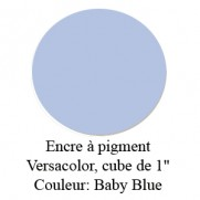 Encre Versacolor Bleu Bébé