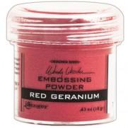 Poudre embossage Wendy Vecchi Rouge géranium