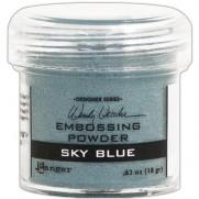 Poudre embossage Sky Blue