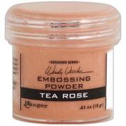 Poudre embossage Wendy Vecchi Tea Rose