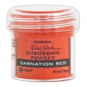 Poudre embossage Wendy Vecchi Carnation Red