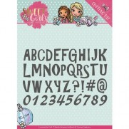 Yvonne Creations Die Fille Alphabet