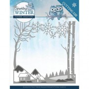 Yvonne Creations Die Paysage d'hiver