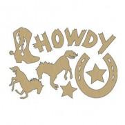 Découpes en Veneer Howdy