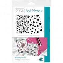 Gina K Designs Feuilles de Toner à motifs Coeurs