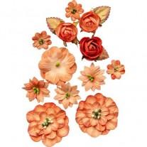49 And Market Fleurs Tangerine