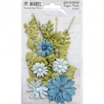 49 And Market Fleurs Framboise bleue