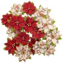 Prima Fleurs Poinsettias