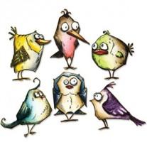 Sizzix Thinlits Die - Bird Crazy