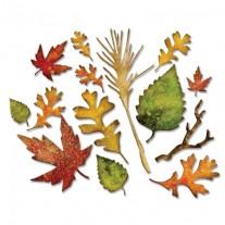 Sizzix Thinlits Die Feuilles d'automne