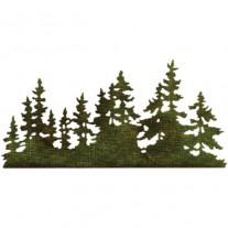 Sizzix Thinlits Die Tree Line